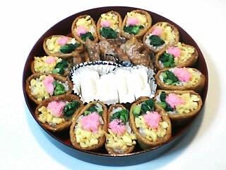 菜の花いなり寿司