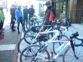 自転車がいっぱい