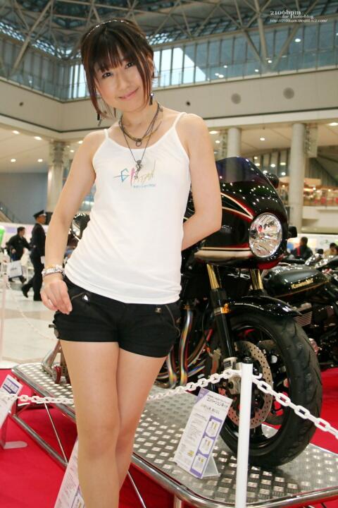 岡本けい / NMCA -TOKYO MOTOR CYCLE SHOW 2012-