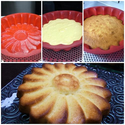 ヨーグルトオレンジケーキ