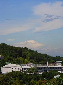 円覚寺・富士山