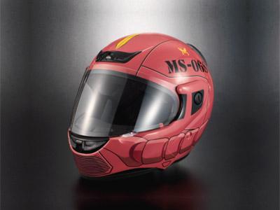 シャア専用 ヘルメット