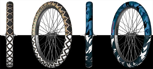 Bike Tire Tattoos
