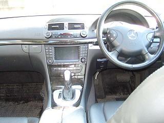 E320 アバンギャルド 運転席