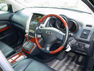 ハリアー 2.4Gプレミアム 運転席