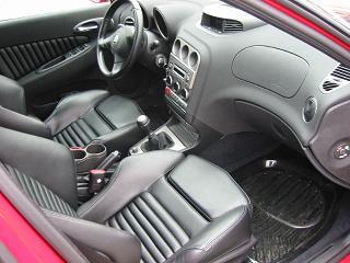アルファロメオ 156セダン 運転席