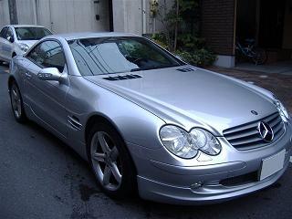 メルセデスベンツ SL500