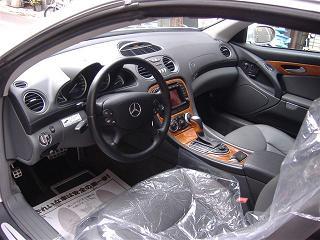 メルセデスベンツ SL500 運転席