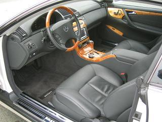 メルセデスベンツ CL500 運転席