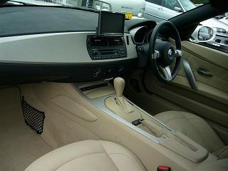 BMW Z4 運転席