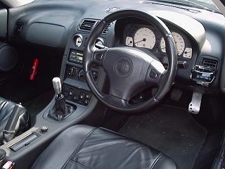 MG-F 運転席