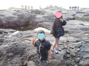 江ノ島岩場