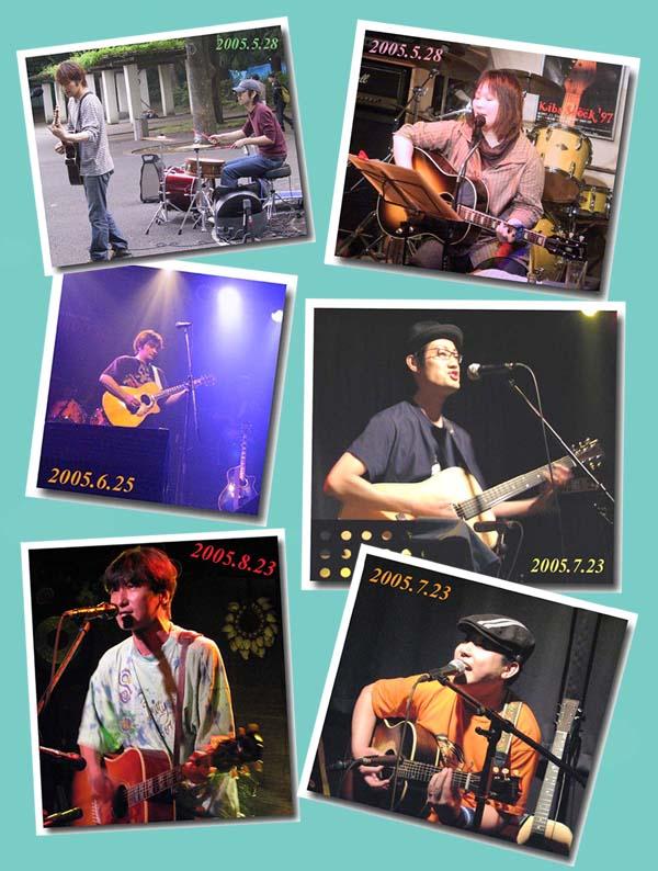 2005ライブ5~8月