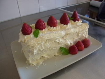 バースデーケーキ、ブリジット風