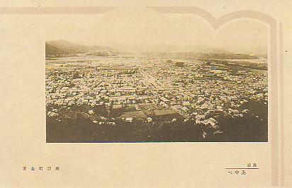 綾部市遠景