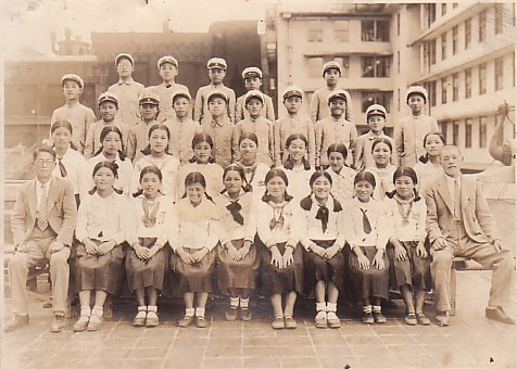 祖母の修学旅行
