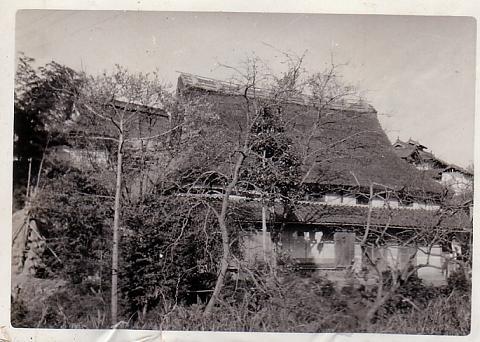 昭和30年代の実家