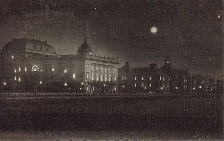 夜景帝国劇場