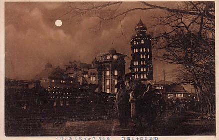 夜景浅草十二階