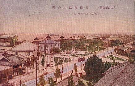 名古屋県庁附近
