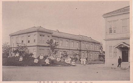 舞鶴海軍病院病室
