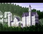 モデルはノイシュヴァンシュタイン城