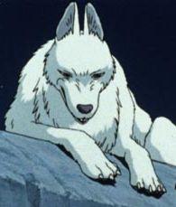 山犬のモロ