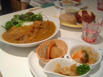 野菜カレーランチ