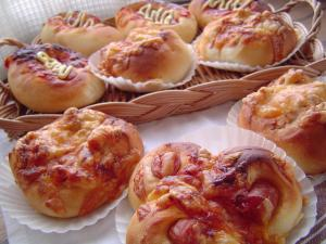 今日の成型パン