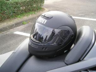 新ヘルメットCLOSE