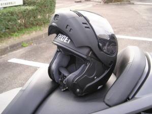 新ヘルメットOPEN
