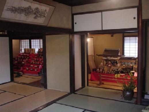 雛飾り(奥の間)