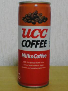UCC COFFEE Milk & Coffee FRONT VIEW