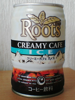 Roots CREAMY CAFE ICE FRONTVIEW