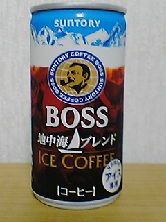 BOSS 地中海ブレンド ICE COFEE FRONTVIEW