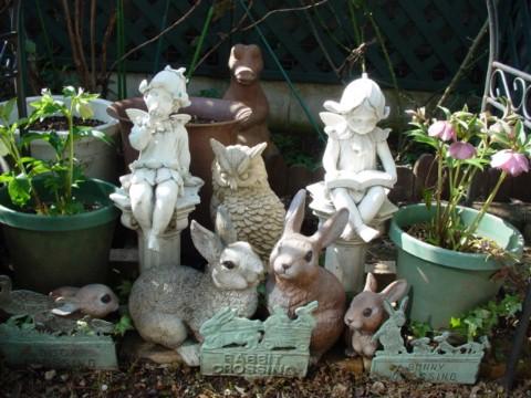 庭の仲間の避難所