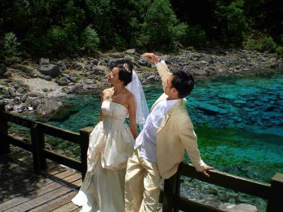 九賽溝結婚式