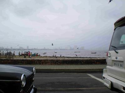 ムンバイの海