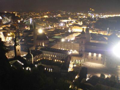 ザルツバーグの夜景
