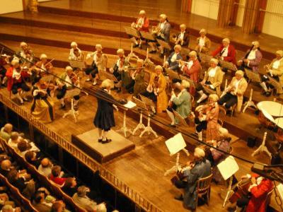 ウィーンの楽友会館でのコンサート