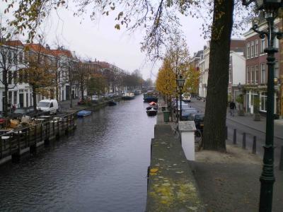 デンハーグの街並み