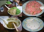 キムチチャーハンを頼んだら紅生姜ご飯が!