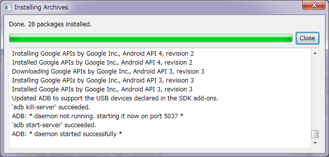 Android SDK 13