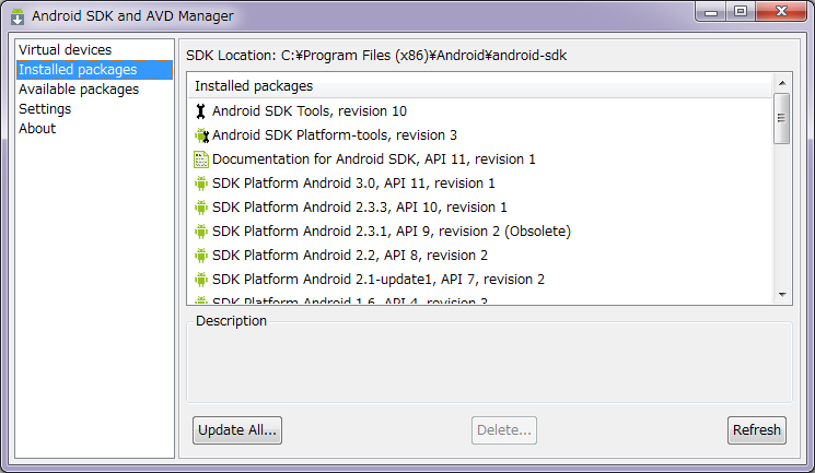 Android SDK 14