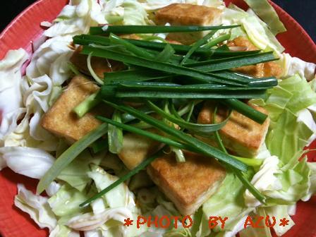 中華風豆腐ステーキ