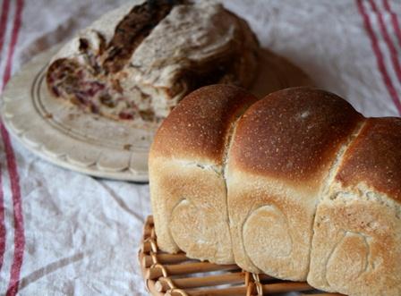 2-11-4-3 阿古グリーンレーズントクランベリー食パン