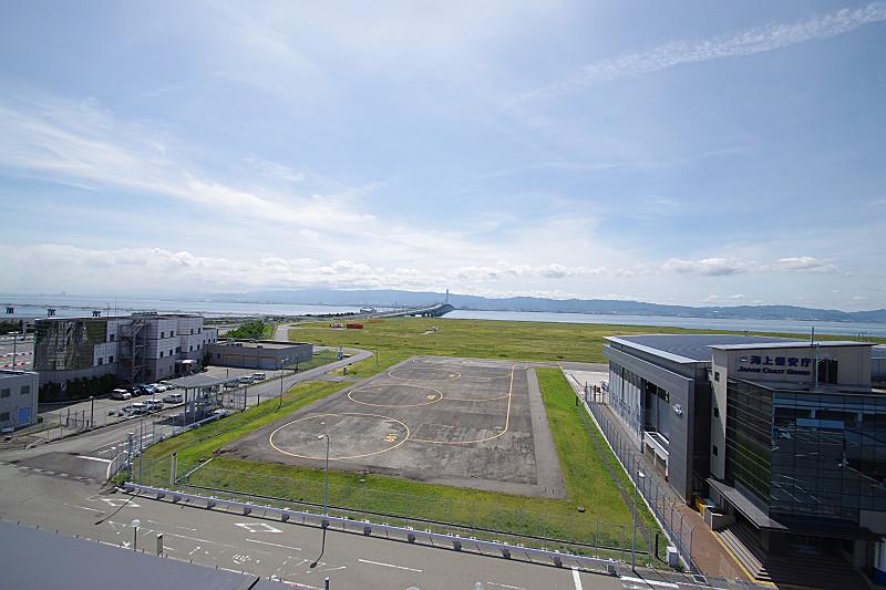 関西空港連絡橋と海上保安庁