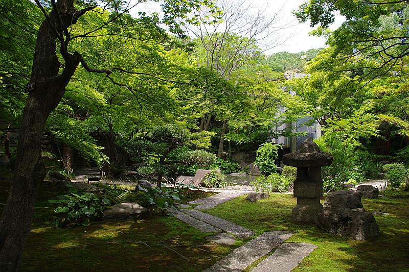 大山崎山荘庭園