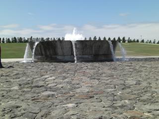 小さい噴水