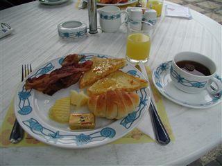 チャバサムイの朝食
